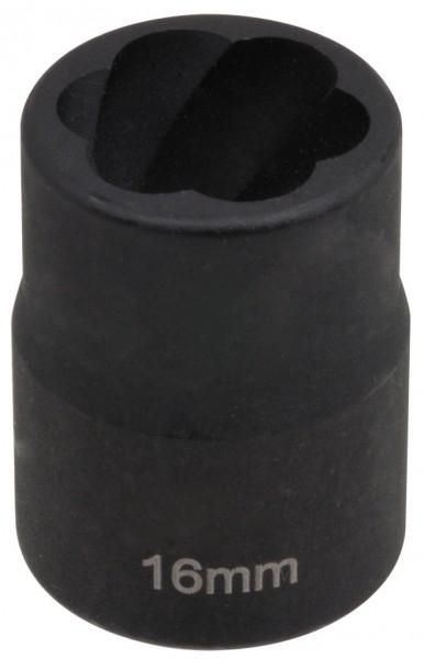 """12,5 mm (1/2"""") Spiralnuten Spiralnuteneinsatz 16 mm"""