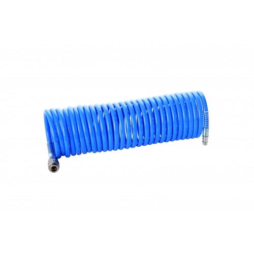 Aerotec Druckluft Spiral Schlauch Spiralschlauch 7,5 Meter Kompressor