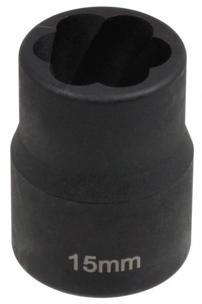 """12,5 mm (1/2"""") Spiralnuten Spiralnuteneinsatz 15 mm"""