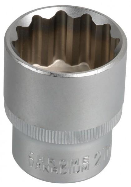"""12,5 mm (1/2"""") Zwölfkant Steckschlüsseleinsatz 27 mm"""