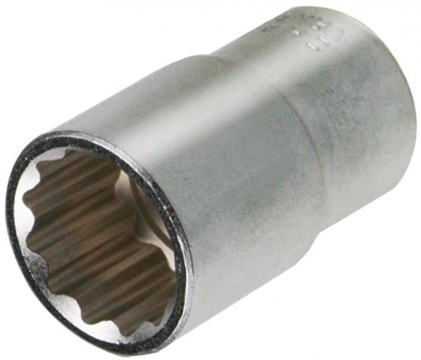"""12,5 mm (1/2"""") Zwölfkant Steckschlüsseleinsatz 22 mm"""