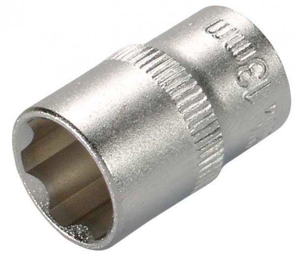 """6,3 mm (1/4"""") Wellenprofil Steckschlüsseleinsatz 14 mm"""