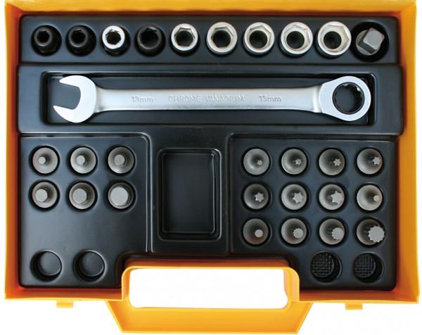 """10 mm (3/8"""") Spezialschraubsystem"""