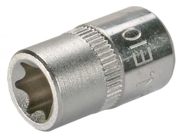 """6,3 mm (1/4"""") E-Profil Steckschlüsseleinsatz E4"""