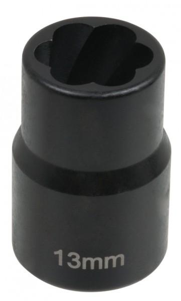 """12,5 mm (1/2"""") Spiralnuten Spiralnuteneinsatz 13 mm"""