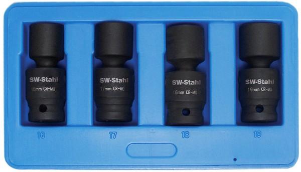 """12,5 mm (1/2"""") Sechskant IMPACT-Kugelgelenkeinsätze"""