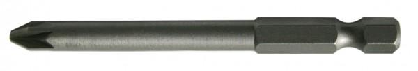 "6,3 mm (1/4"") 6-kant Pozidriv Schraubendrehbit PZ1"
