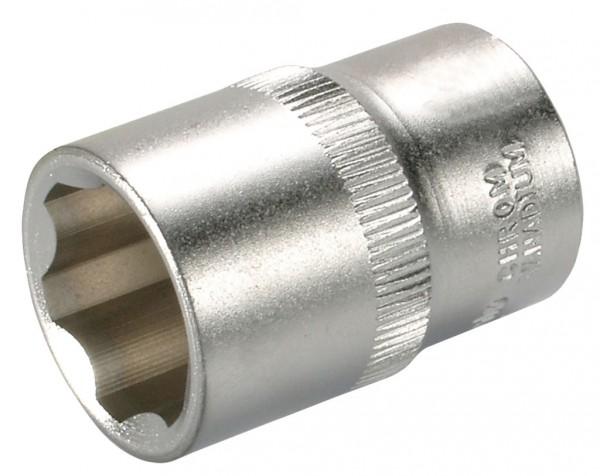 """12,5 mm (1/2"""") Wellenprofil Steckschlüsseleinsatz 8 mm"""