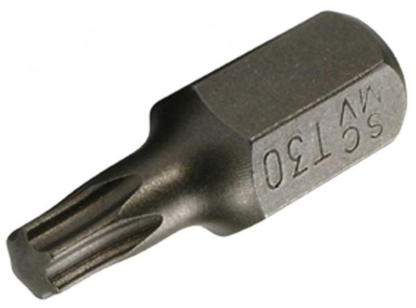 10 mm 6-kant T-Profil ohne Loch Schraubendrehbit T40