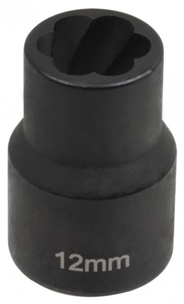 """12,5 mm (1/2"""") Spiralnuten Spiralnuteneinsatz 12 mm"""