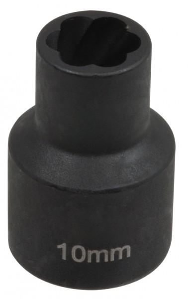 """12,5 mm (1/2"""") Spiralnuten Spiralnuteneinsatz 10 mm"""