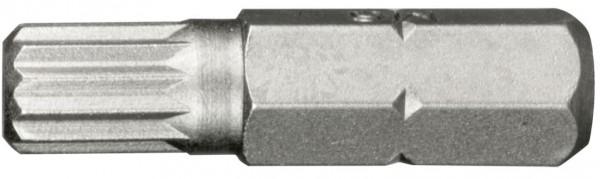 """6,3 mm (1/4"""") 6-kant Vielzahn Schraubendrehbit M5"""