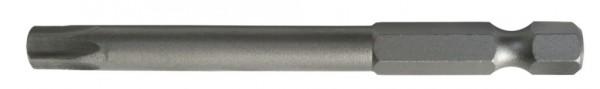 """6,3 mm (1/4"""") 6-kant T-Profil ohne Loch Schraubendrehbit T15"""
