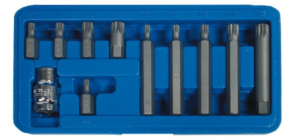 10 mm 6-kant Vielzahn Schraubendreheinsätze