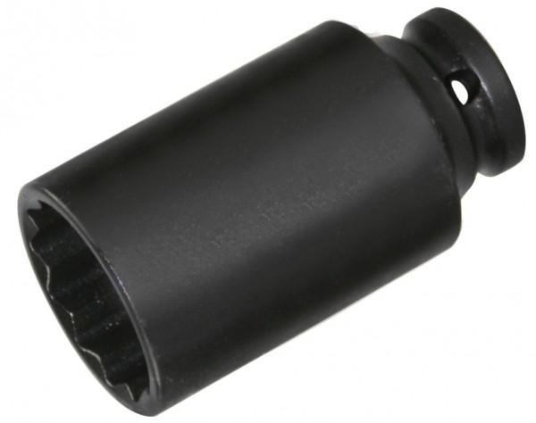 """12,5 mm (1/2"""") Zwölfkant IMPACT-Steckschlüsseleinsatz 27 mm"""
