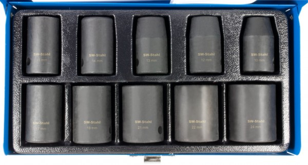 """12,5 mm (1/2"""") Sechskant IMPACT-Steckschlüsseleinsätze"""