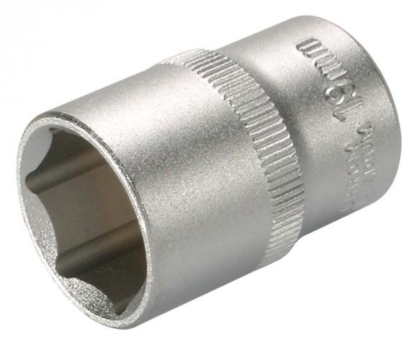 """12,5 mm (1/2"""") Sechskant Steckschlüsseleinsatz 21 mm"""