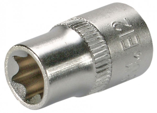 """10 mm (3/8"""") E-Profil Steckschlüsseleinsatz E12"""