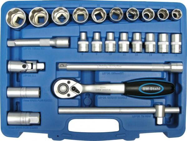 """12,5 mm (1/2"""") Industrie-Steckschlüsselsatz"""