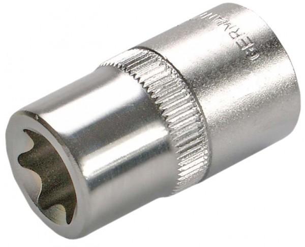 """12,5 mm (1/2"""") E-Profil Steckschlüsseleinsatz E12"""