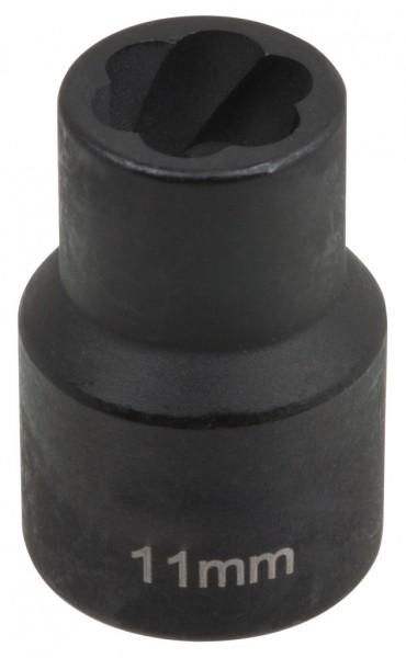 """12,5 mm (1/2"""") Spiralnuten Spiralnuteneinsatz 11 mm"""