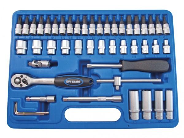 """6,3 mm (1/4"""") Industrie-Steckschlüsselsatz"""