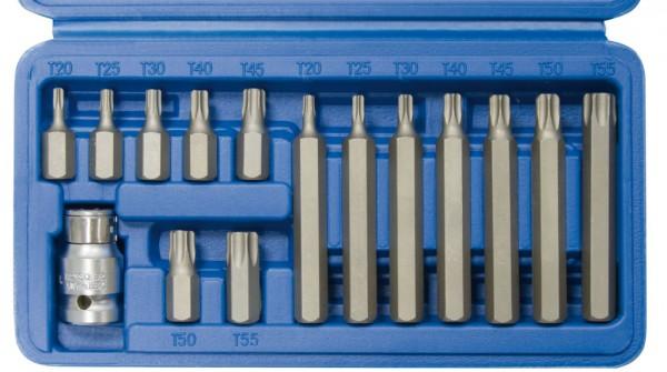 10 mm 6-kant T-Profil ohne Loch Schraubendreheinsätze